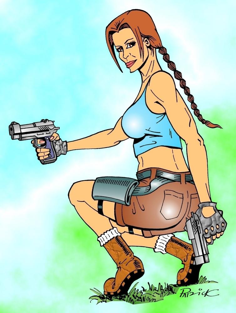 Lara Croft by PatKane